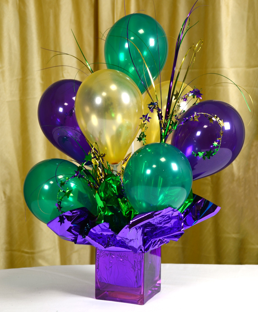 Balloon centerpieces ideas party favors ideas for Balloon decoration for parties
