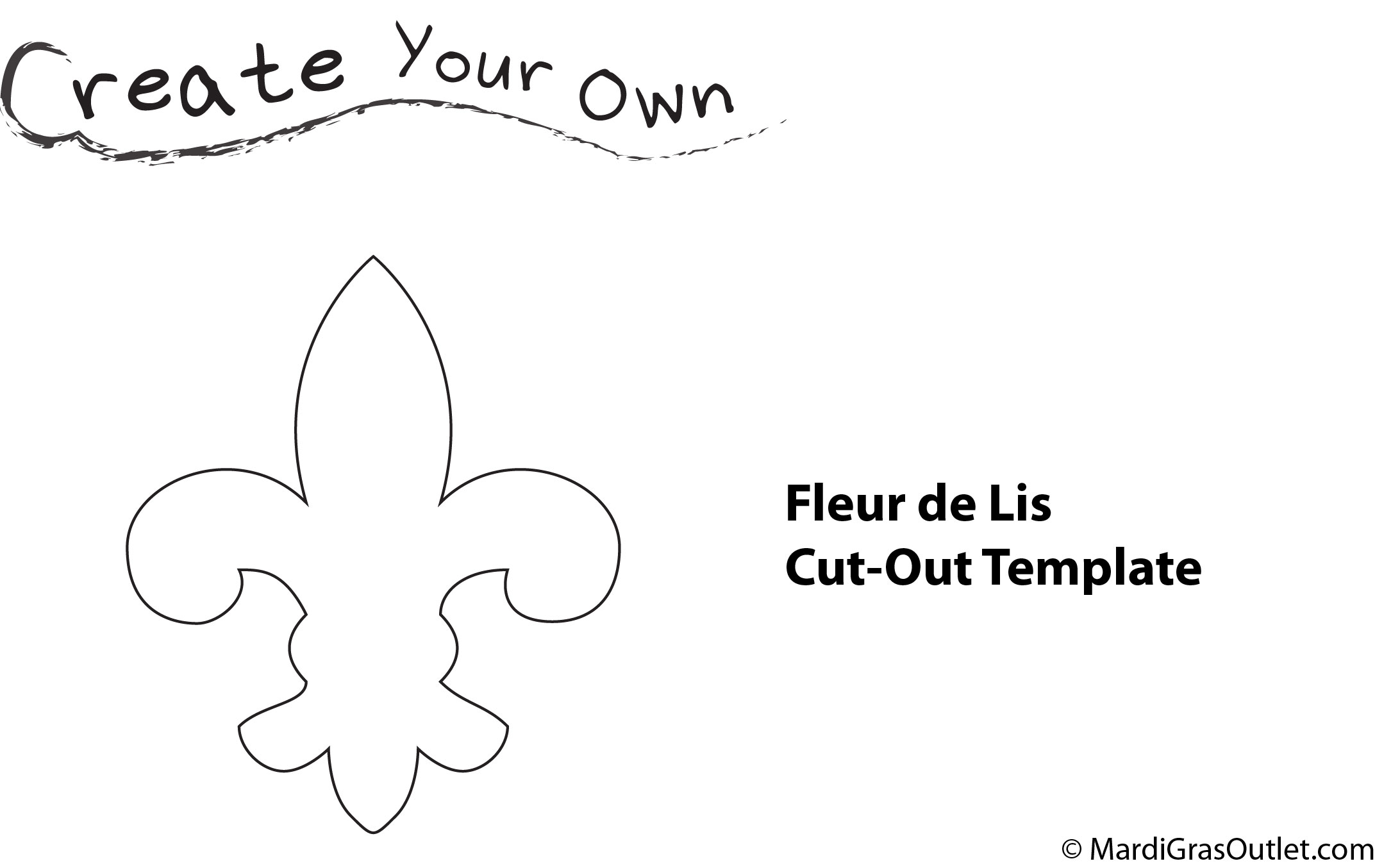 Fleur De Lis Gift Wrap Its A Simple But Elegant Way To Accent Gifts For Krewe Presents Mardi Gras Party Favors And More Cut Out Template Provided