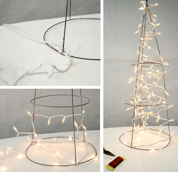 Christmas Trees Made From Tomato Cages: Party Ideas By Mardi Gras Outlet: Deco Mesh Christmas Tree