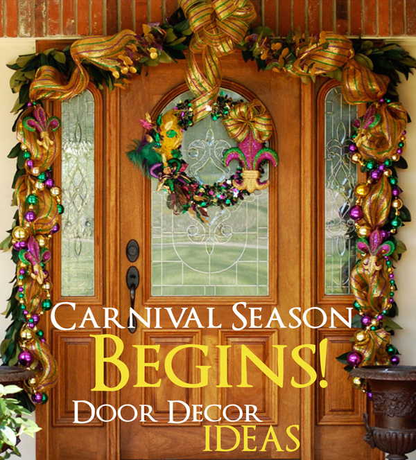 Party ideas by mardi gras outlet carnival season is here for Decoration epiphanie