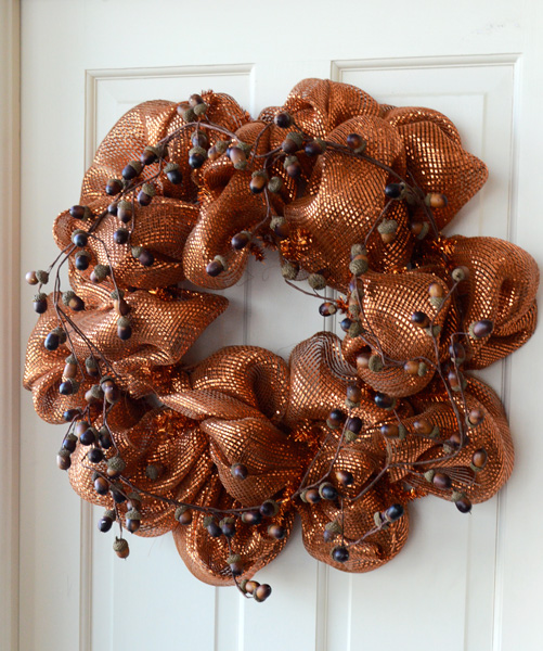 Party Ideas By Mardi Gras Outlet Fall Wreath Tutorial