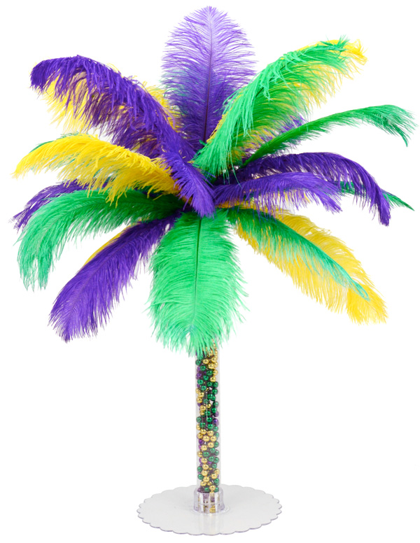 Party ideas by mardi gras outlet diy feather