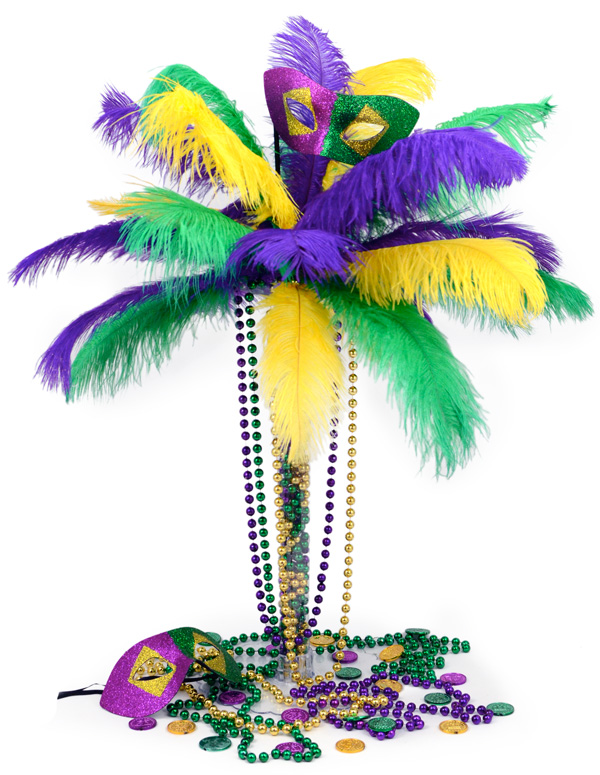 Mardi Gras Party Centerpiece Ideas By Outlet