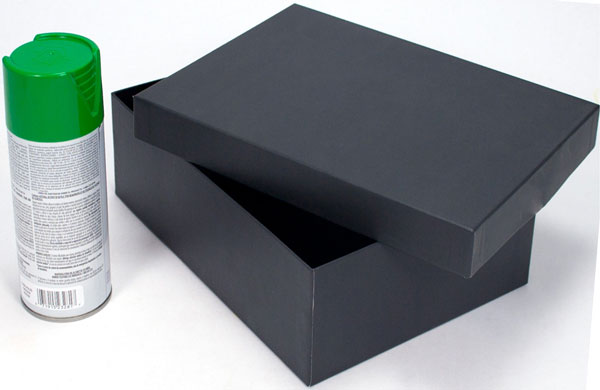 Shoe box for float
