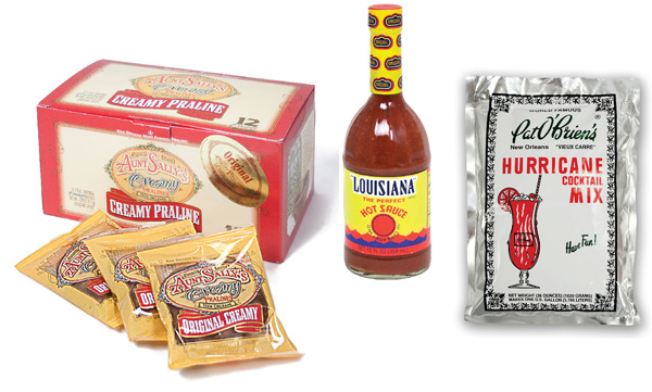 Louisiana food favors
