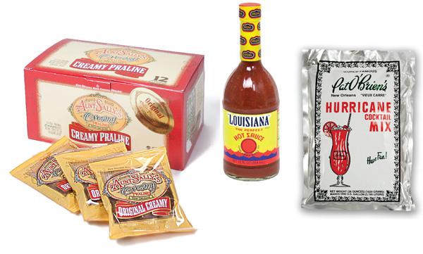 Louisiana food favors