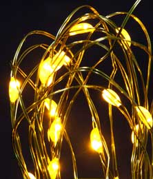 Gold Submersible Aqua Lights