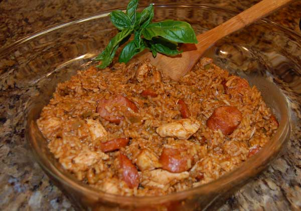 Yummy Chicken and Sausage Jambalaya