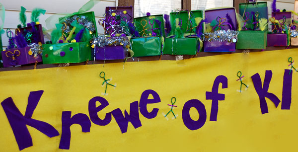 Krewe of K1 floats