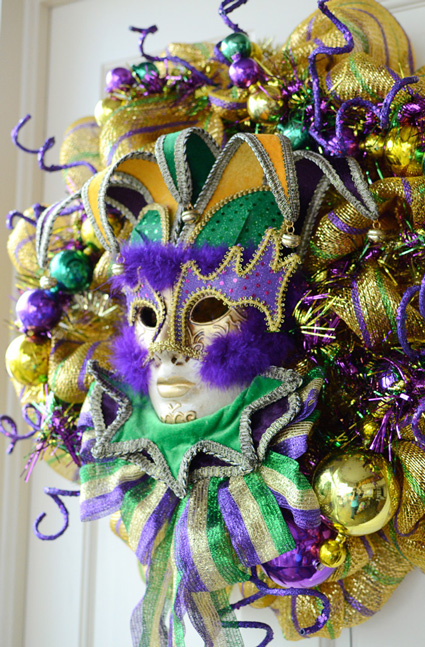Party ideas by mardi gras outlet making a