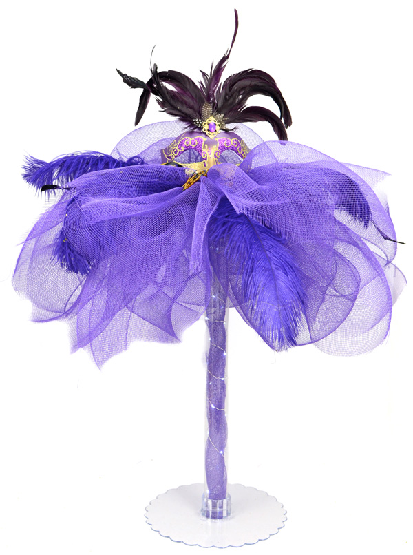 Party ideas by mardi gras outlet masquerade column deco