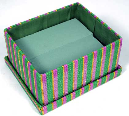 Mardi Gras centerpiece box