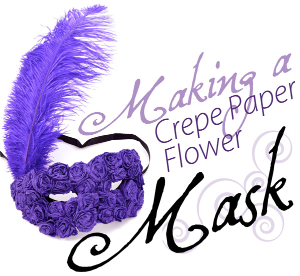 Disguise Your Eyes Behind A Beautiful Royal Purple Mask For Mardi Gras Or New Years Party This Tutorial Shows You How To Decorate Basic With