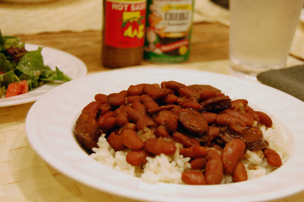 Red Beans and Rice, a Monday tradition