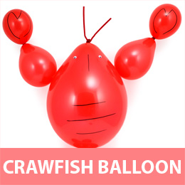 Crawfish Balloon