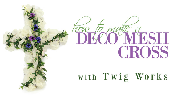 Tutorial for Twig Works Cross decoration