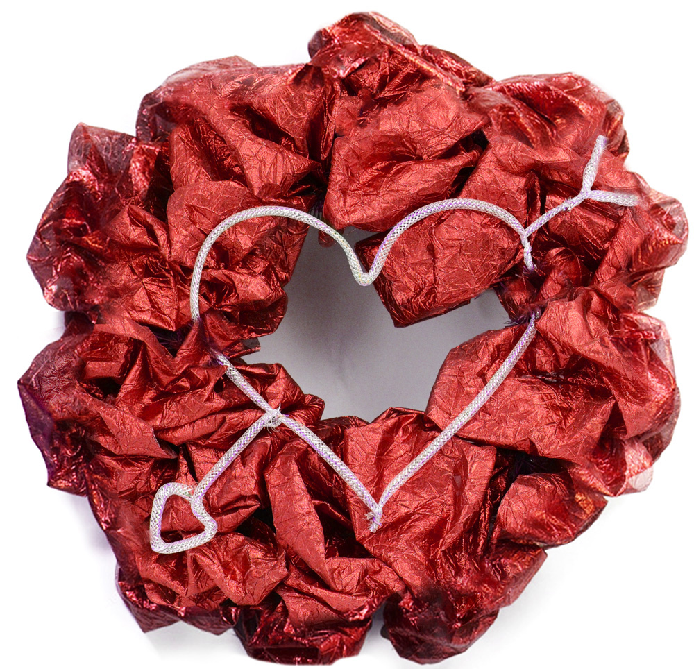 party ideas by mardi gras outlet valentine 39 s day wreath ideas with deco mesh work wreath forms. Black Bedroom Furniture Sets. Home Design Ideas