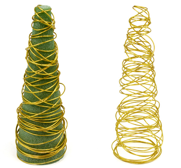 Party Ideas By Mardi Gras Outlet Diy Wire Christmas Tree Decorations