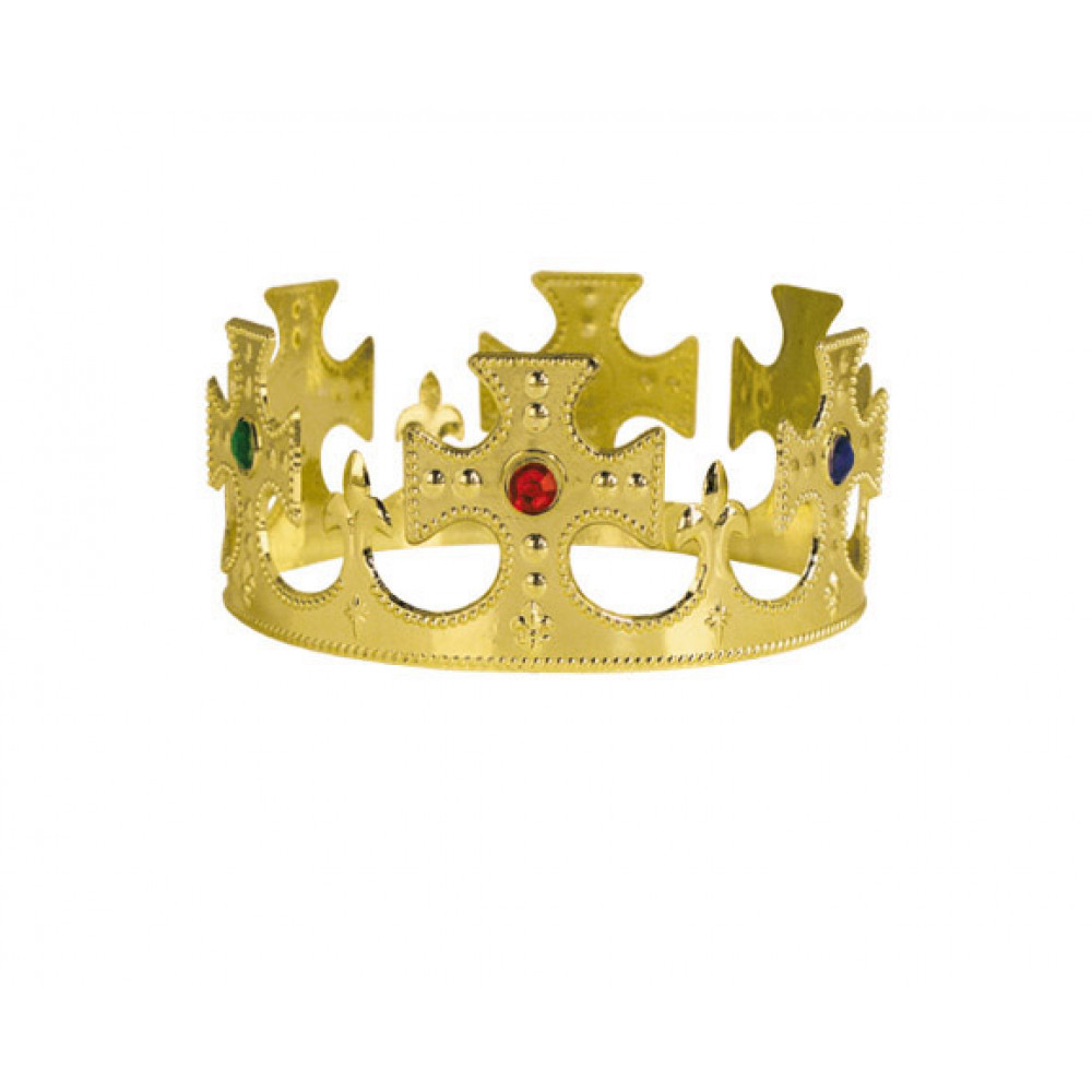 mardi gras beads party supples whole to the public plastic king s crown gold