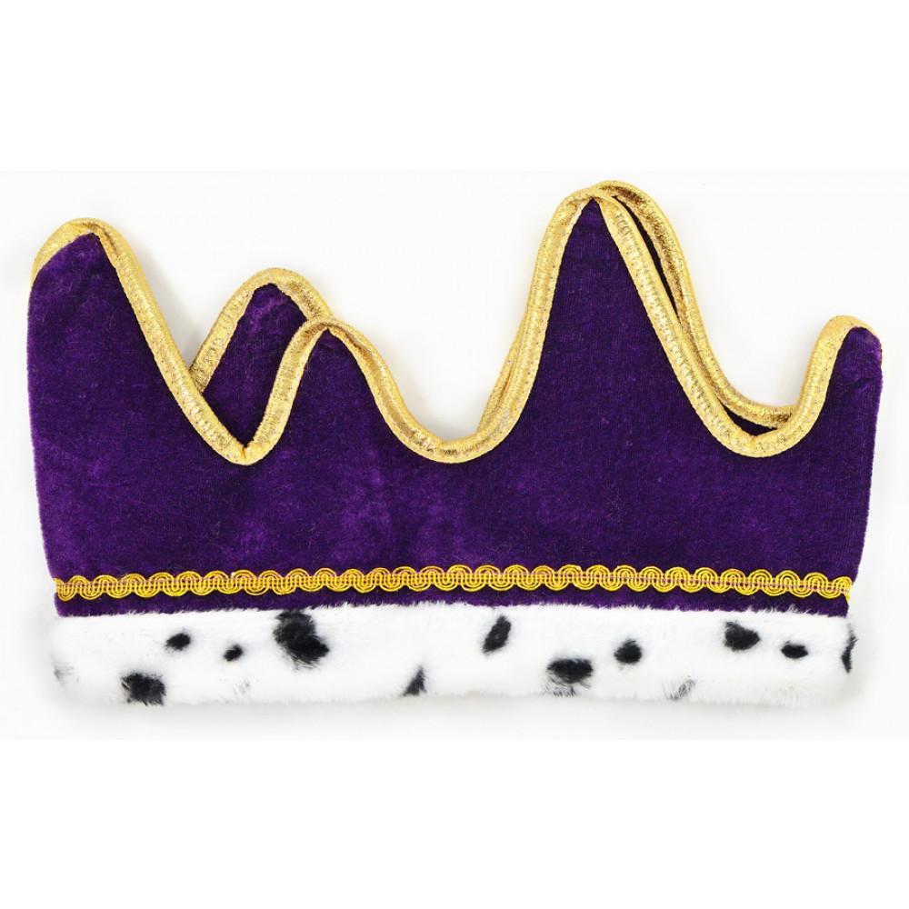 foto de Plush Royal Crown: Purple 60249 PL MardiGrasOutlet com