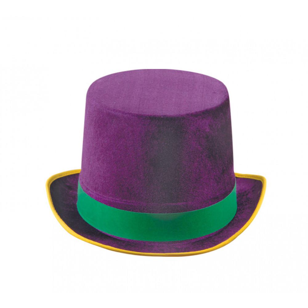 Deluxe Mardi Gras Top Hat 60742 Ggp Mardigrasoutlet Com
