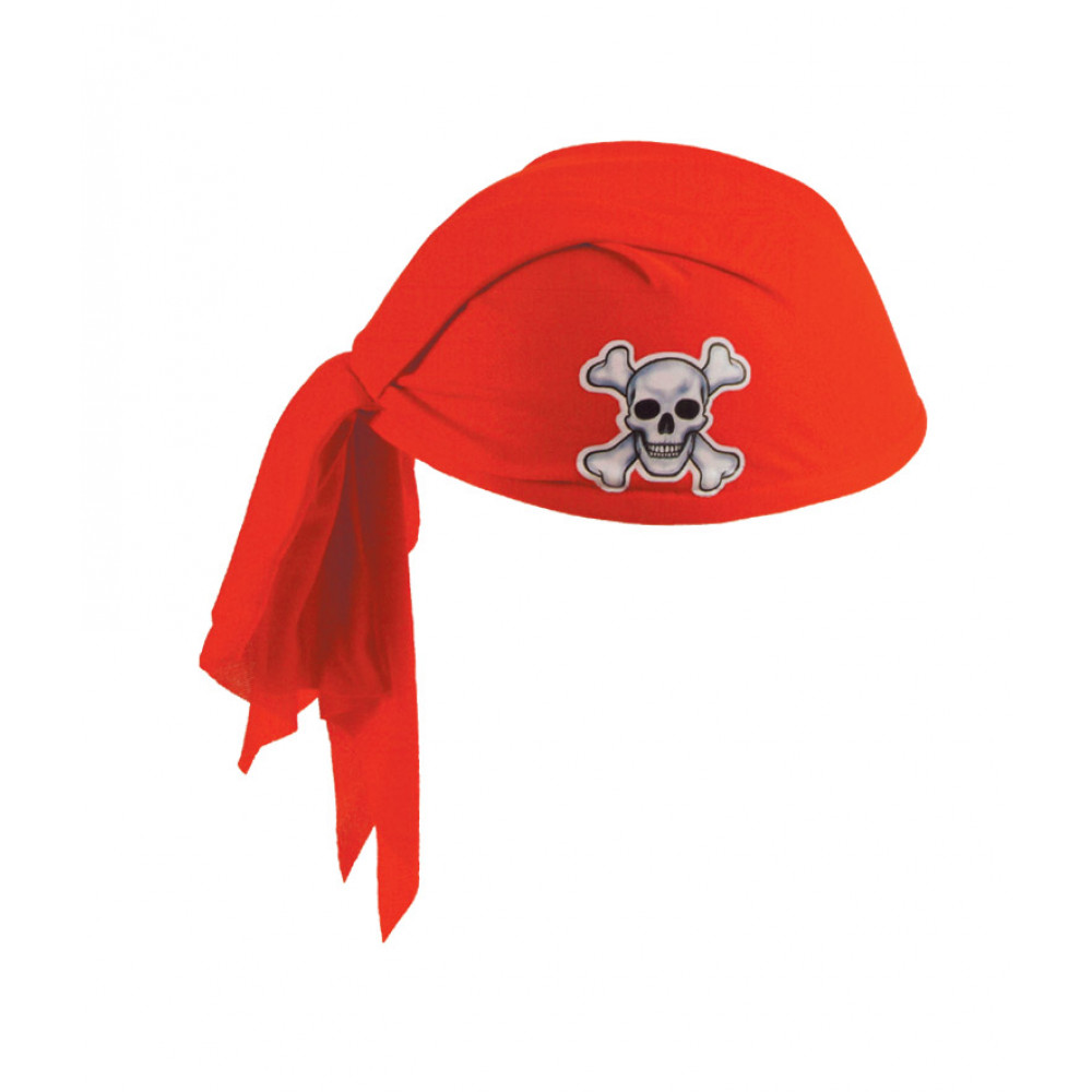 pirate scarf hat red 60752 r mardigrasoutlet com