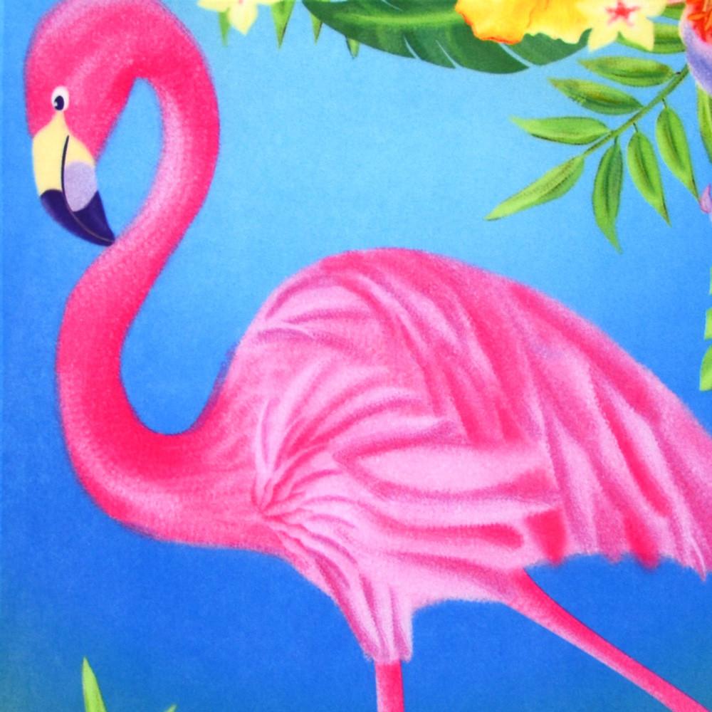 Pink Flamingo Garden Flag 0589FM MardiGrasOutletcom