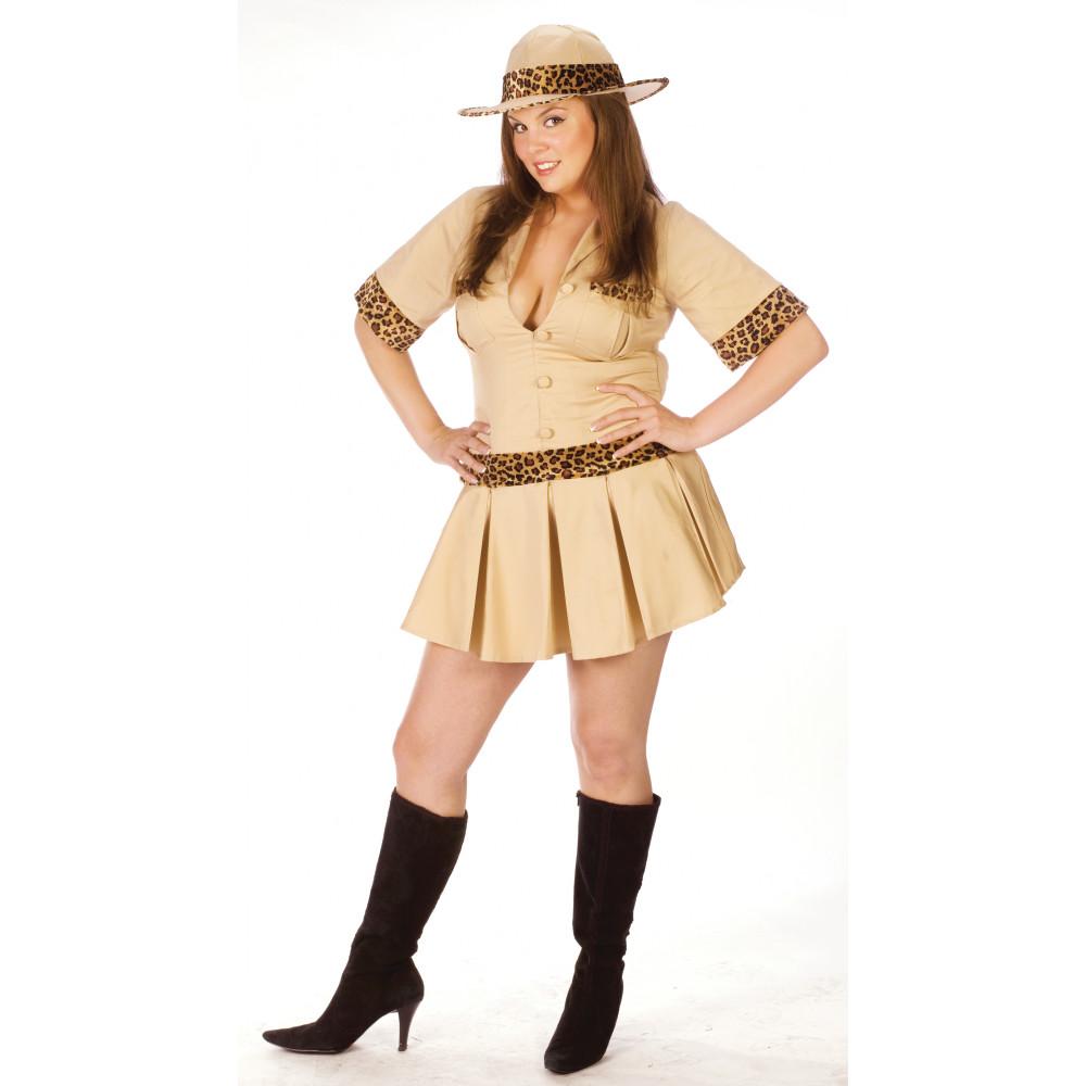 Plus Size Sexy Safari Adult Costume (Size L)  sc 1 st  Mardi Gras Outlet & Plus Size Sexy Safari Adult Costume (Size L) [120175-L ...