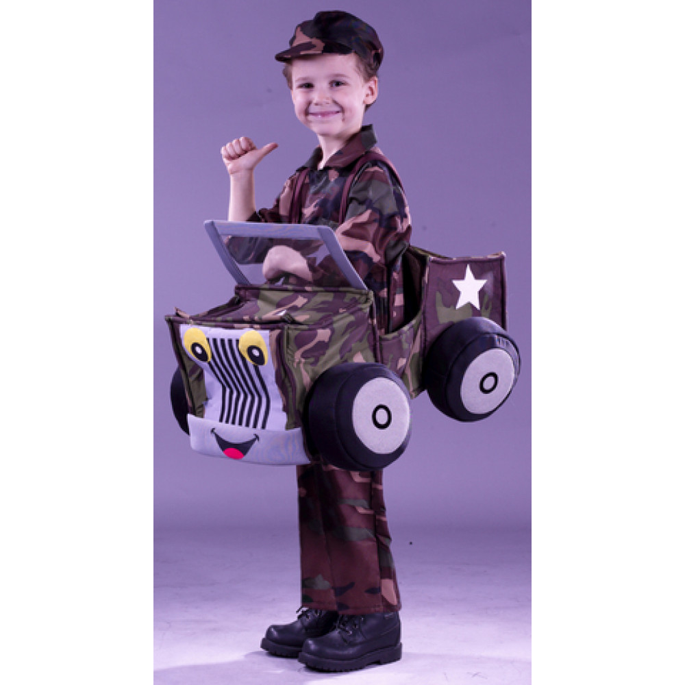 Toddler Quot I M A Jeep Quot Costume 1548 P Mardigrasoutlet Com