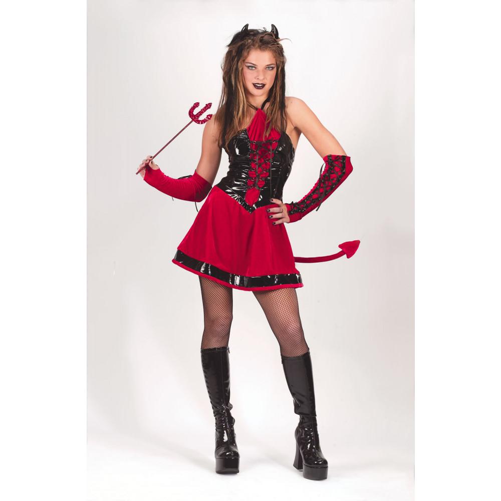 devilish girl teen costume