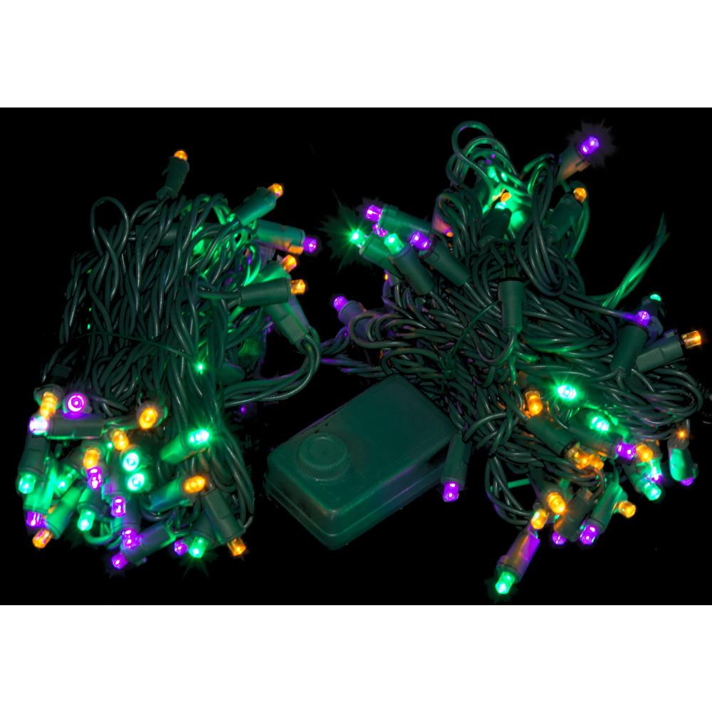 Led Chaser Mardi Gras Lights 105 Light 08499 Mardigrasoutlet Com