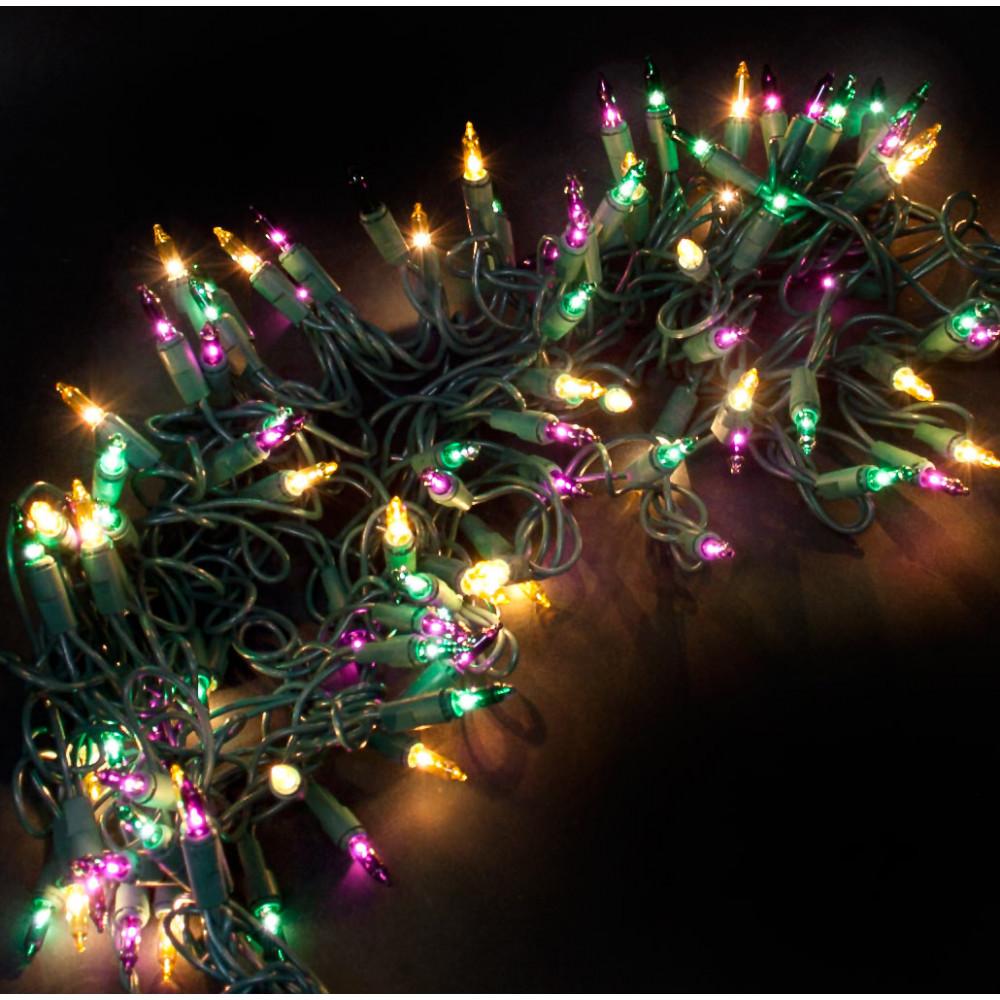 mini mardi gras lights 100 light