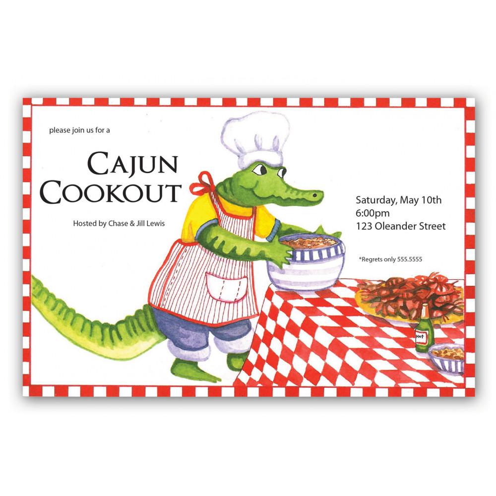 alligator cook out invitation mardigrasoutlet com