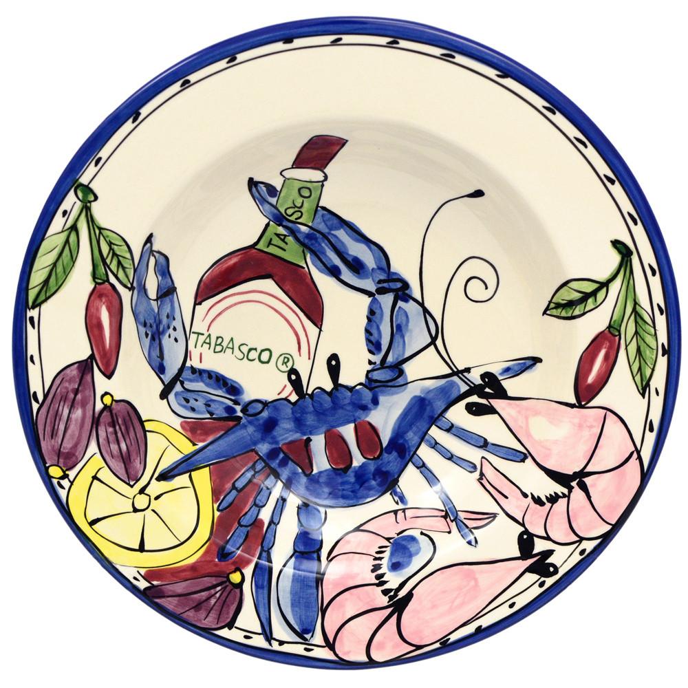 seafood medley tabasco gumbo bowls set 4 mardigrasoutlet com rh mardigrasoutlet com Chicken and Dumplings Clip Art Cajun Gumbo Clip Art