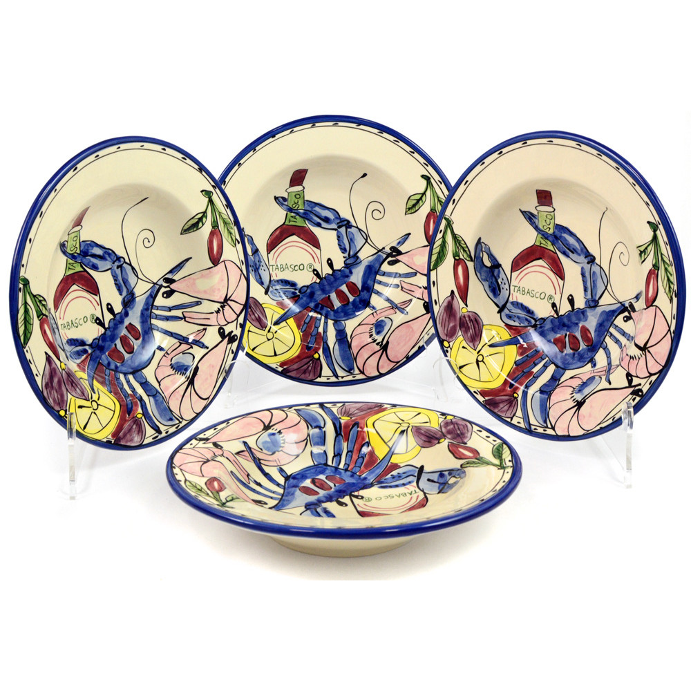 Seafood Medley Tabasco Gumbo Bowls (Set ...