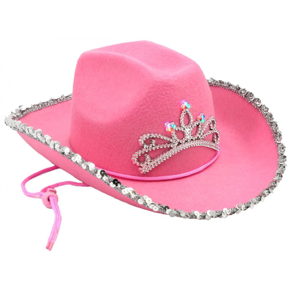 04386bae Flashing Cowboy Hat: Pink [22741PKAO] - MardiGrasOutlet.com