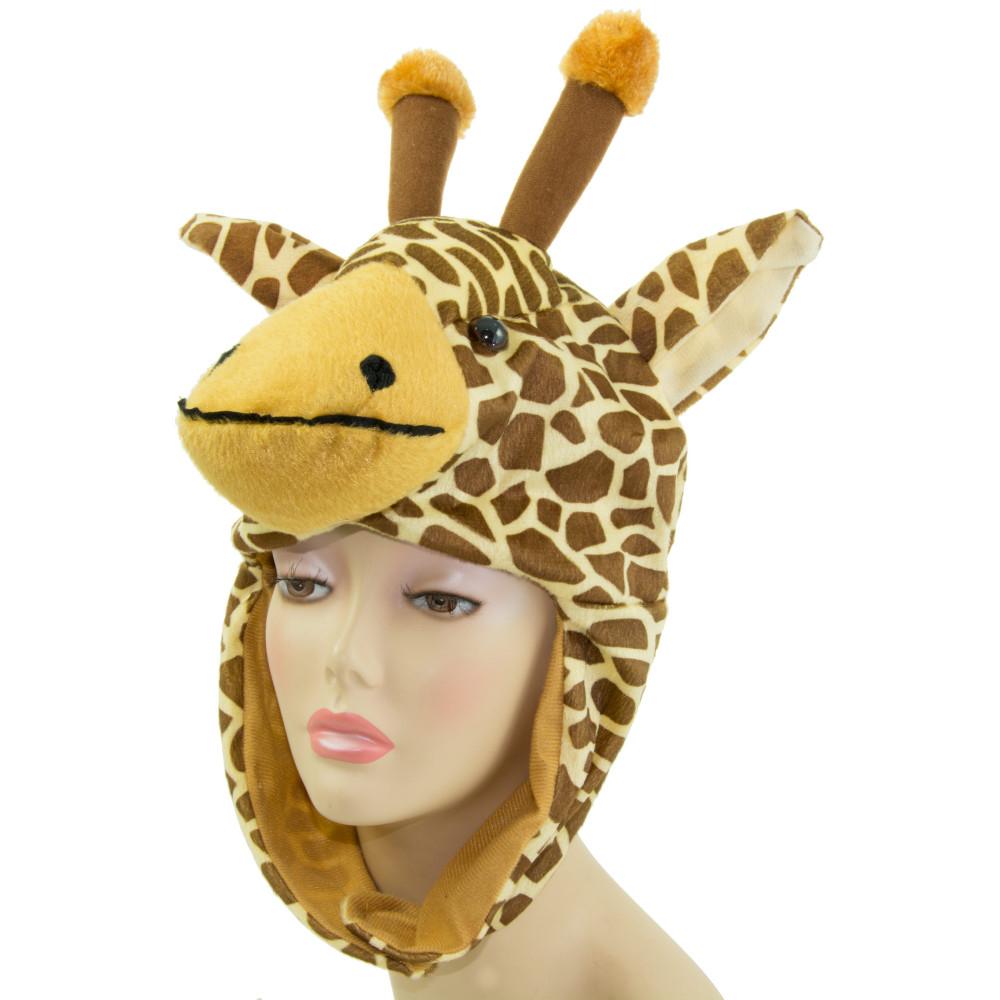 Plush Giraffe Hat    - MardiGrasOutlet.com 60542c18700