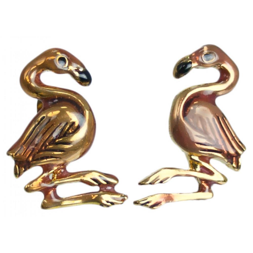 Pink Flamingo Earrings