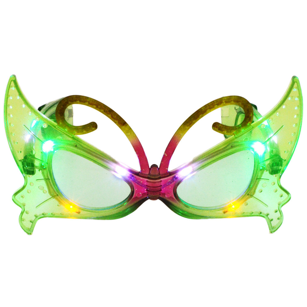 337d5b863c LED Light-up Butterfly Sunglasses  SG105  - MardiGrasOutlet.com