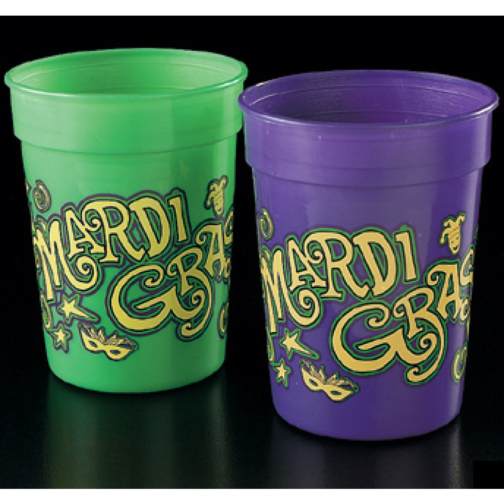 Image result for mardi gras cups