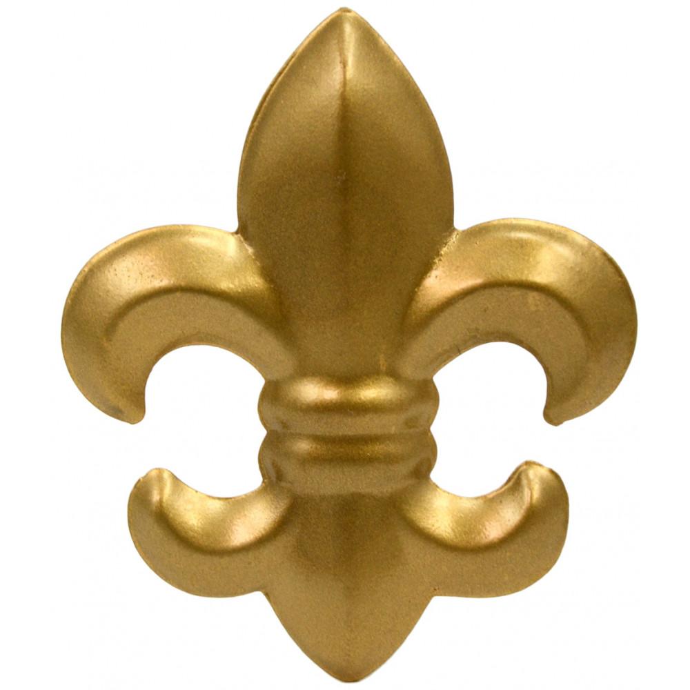 Fleur De Lis Gold Candle Pin: 4\