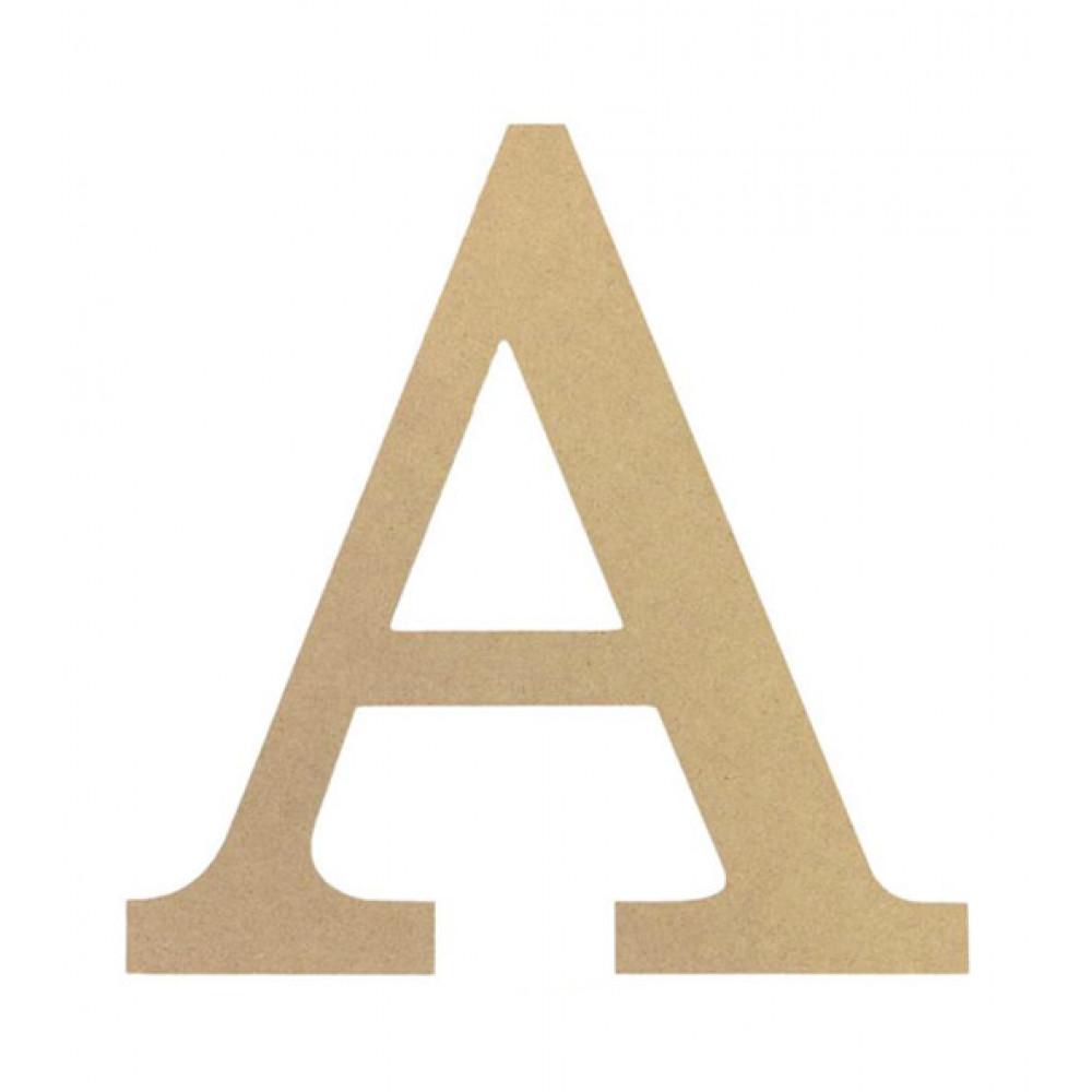 Decorative Letter A.10 Decorative Wood Letter A
