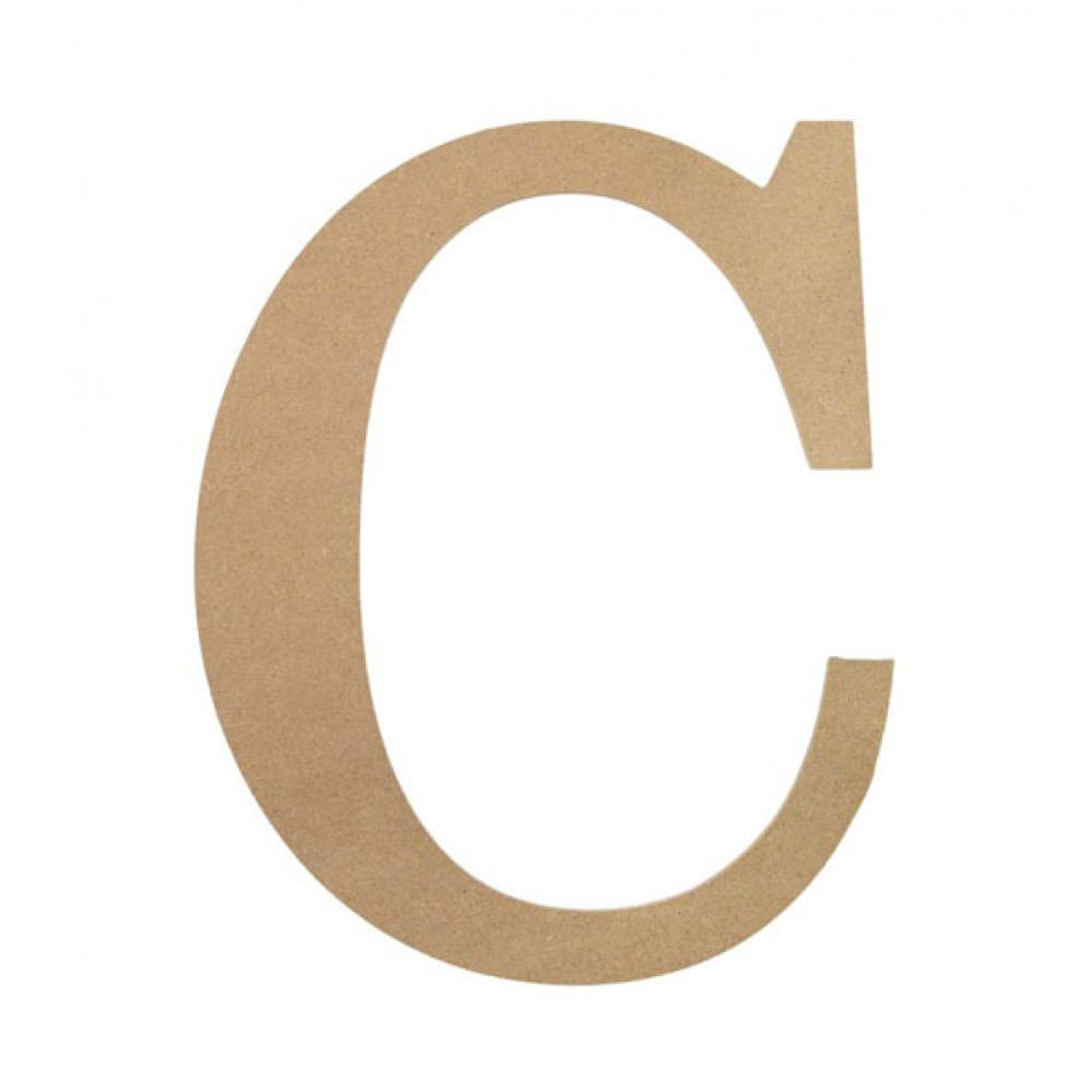 10 U0026quot  Decorative Wood Letter  C  Ab2027