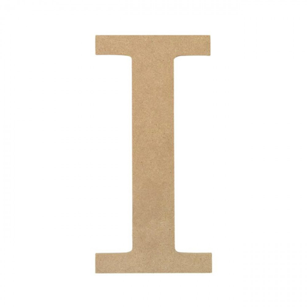10quot decorative wood letter i ab2033 mardigrasoutletcom With wooden letter i