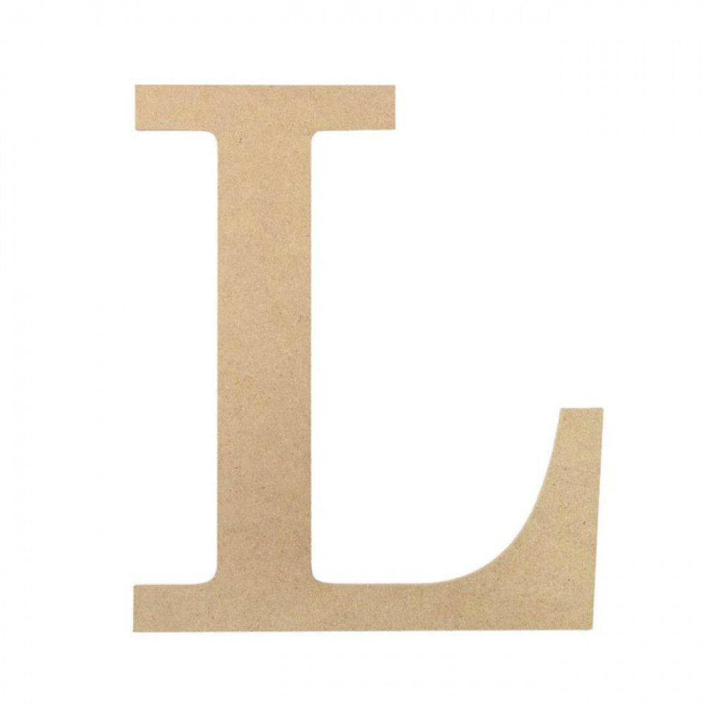 "10"" Decorative Wood Letter: L AB2036 - MardiGrasOutlet.com"