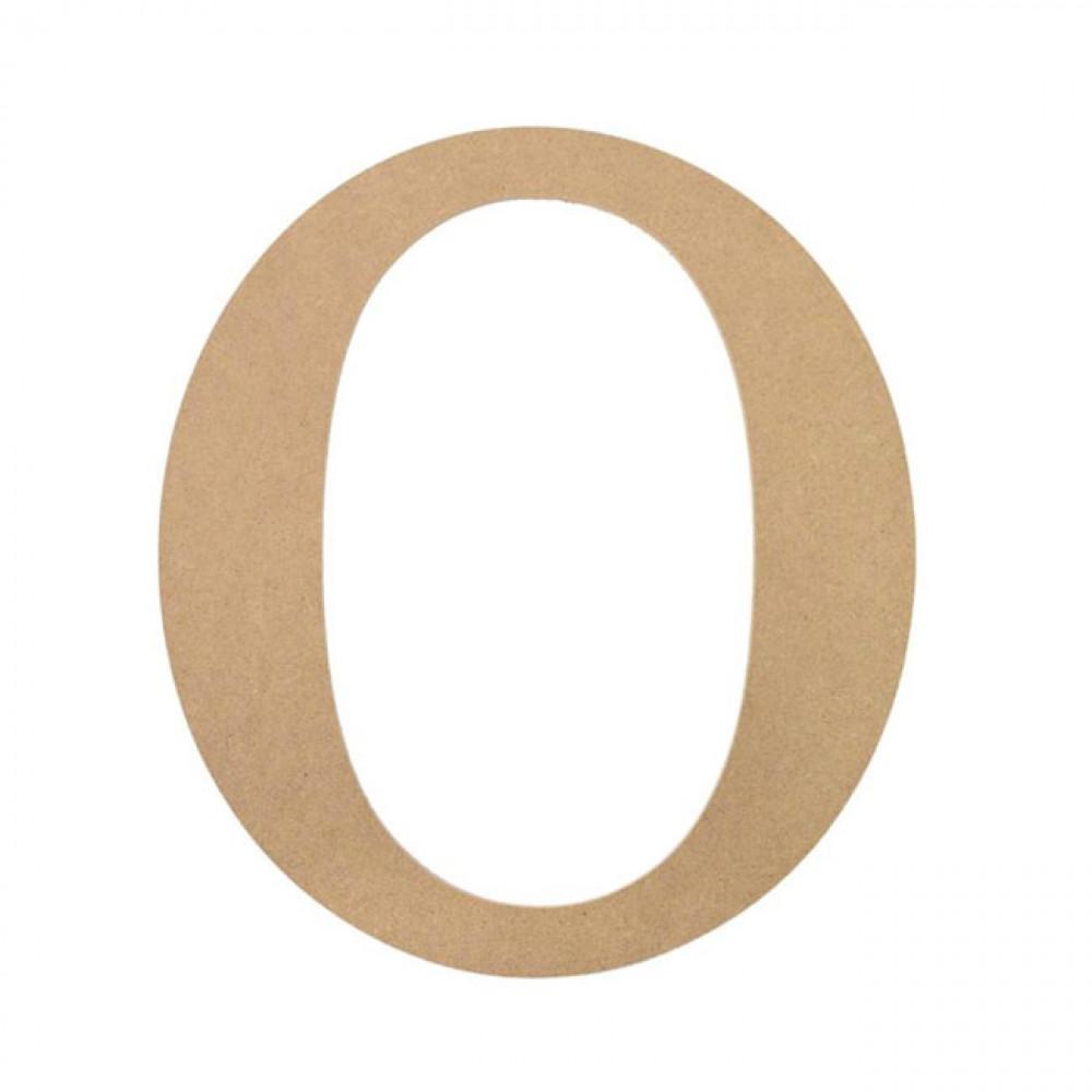 "10"" Decorative Wood Letter: O [AB2039]"