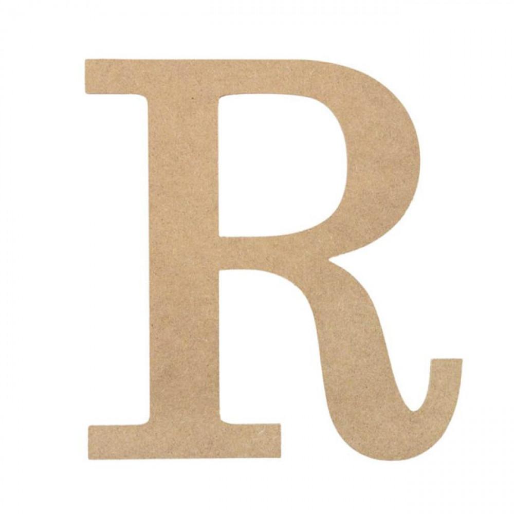 �r�_10DecorativeWoodLetter:R[AB2042]-MardiGrasOutlet.com