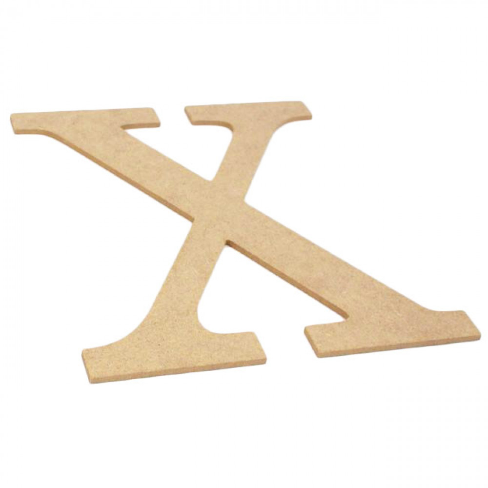 "10"" Decorative Wood Letter: X [AB2048] - MardiGrasOutlet.com"