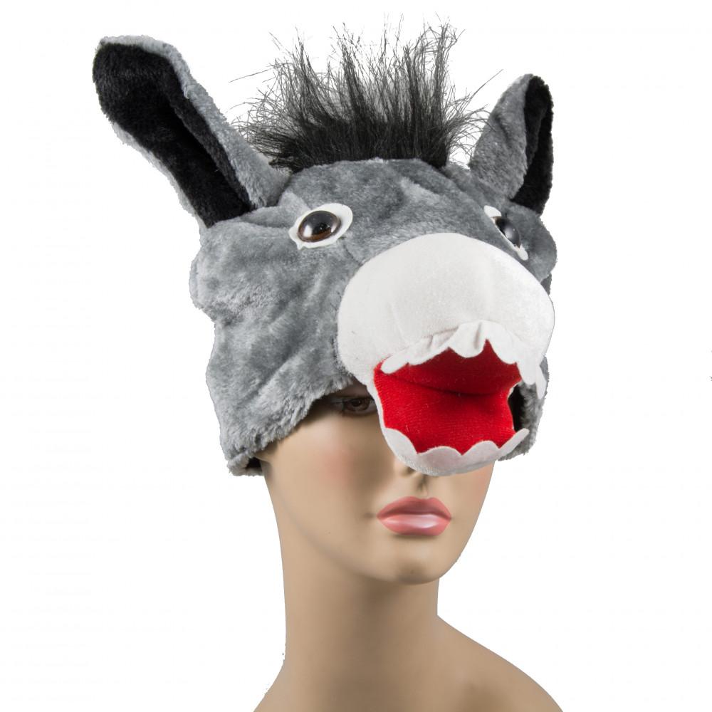 Plush Grey Donkey Hat 26645gyao Mardigrasoutlet Com