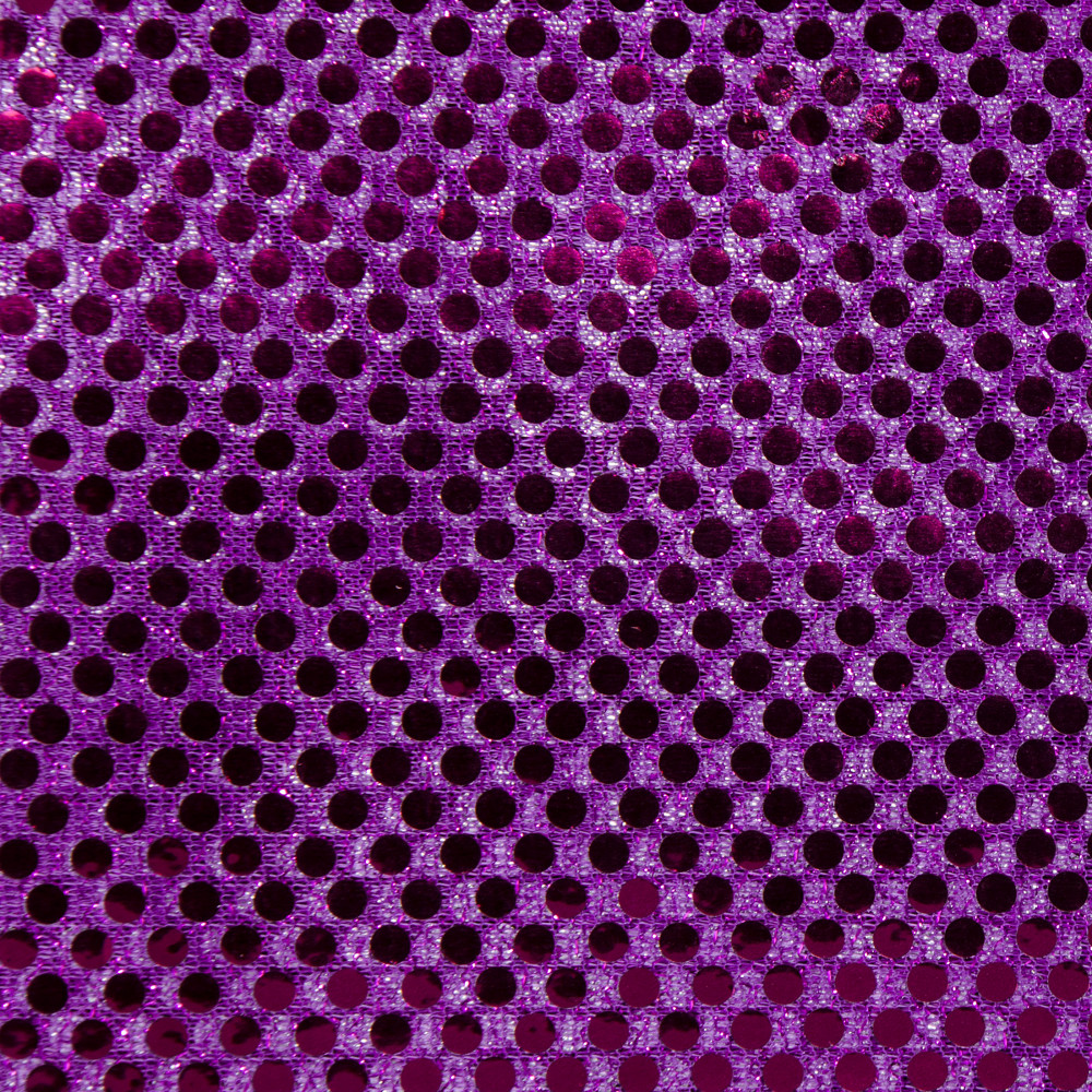 Metallic sequin knit fabric purple 44 by 5 yards 38 for Sequin fabric